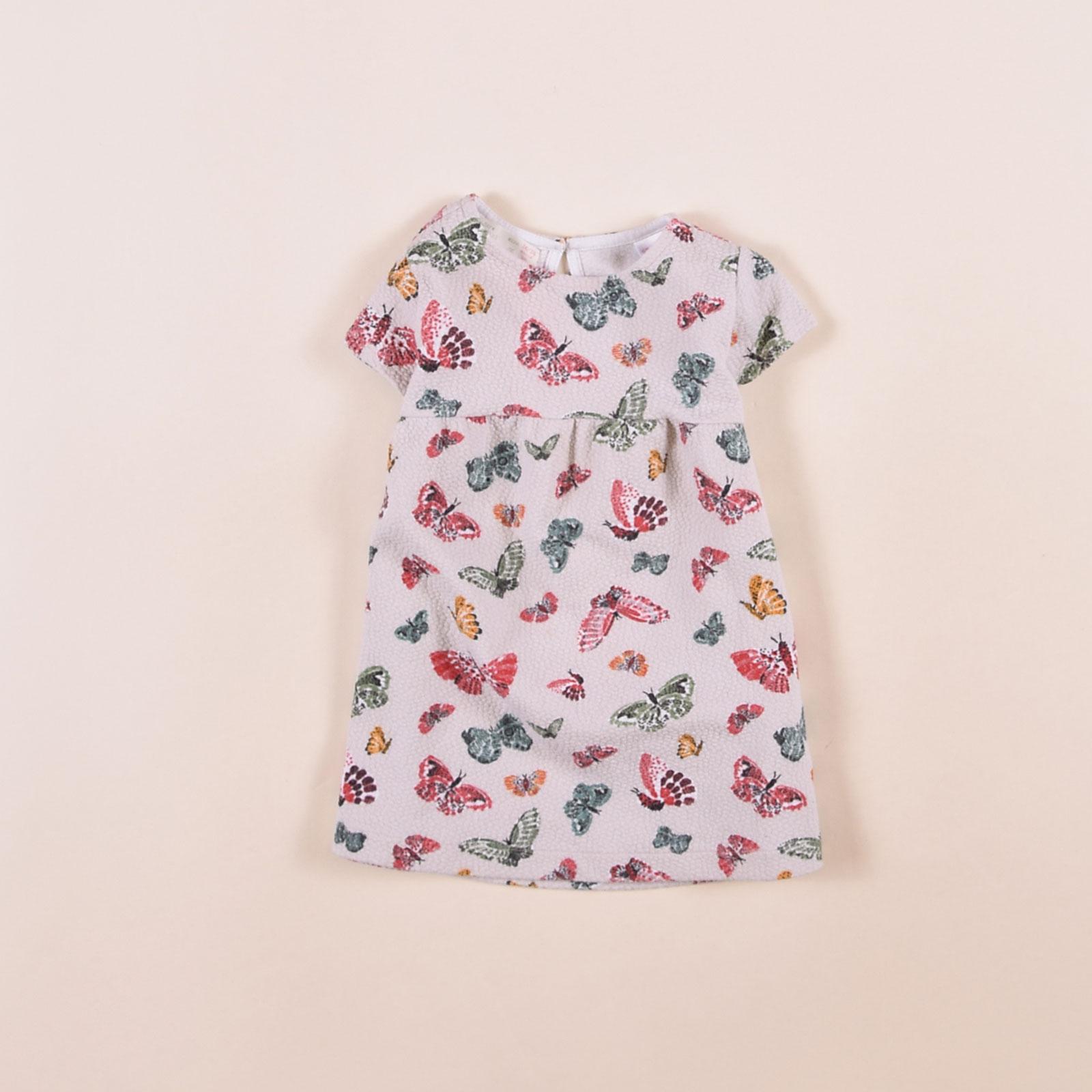 Zara Mädchen Kinder Kleid Dress Gr.9 Mehrfarbig, 9   eBay