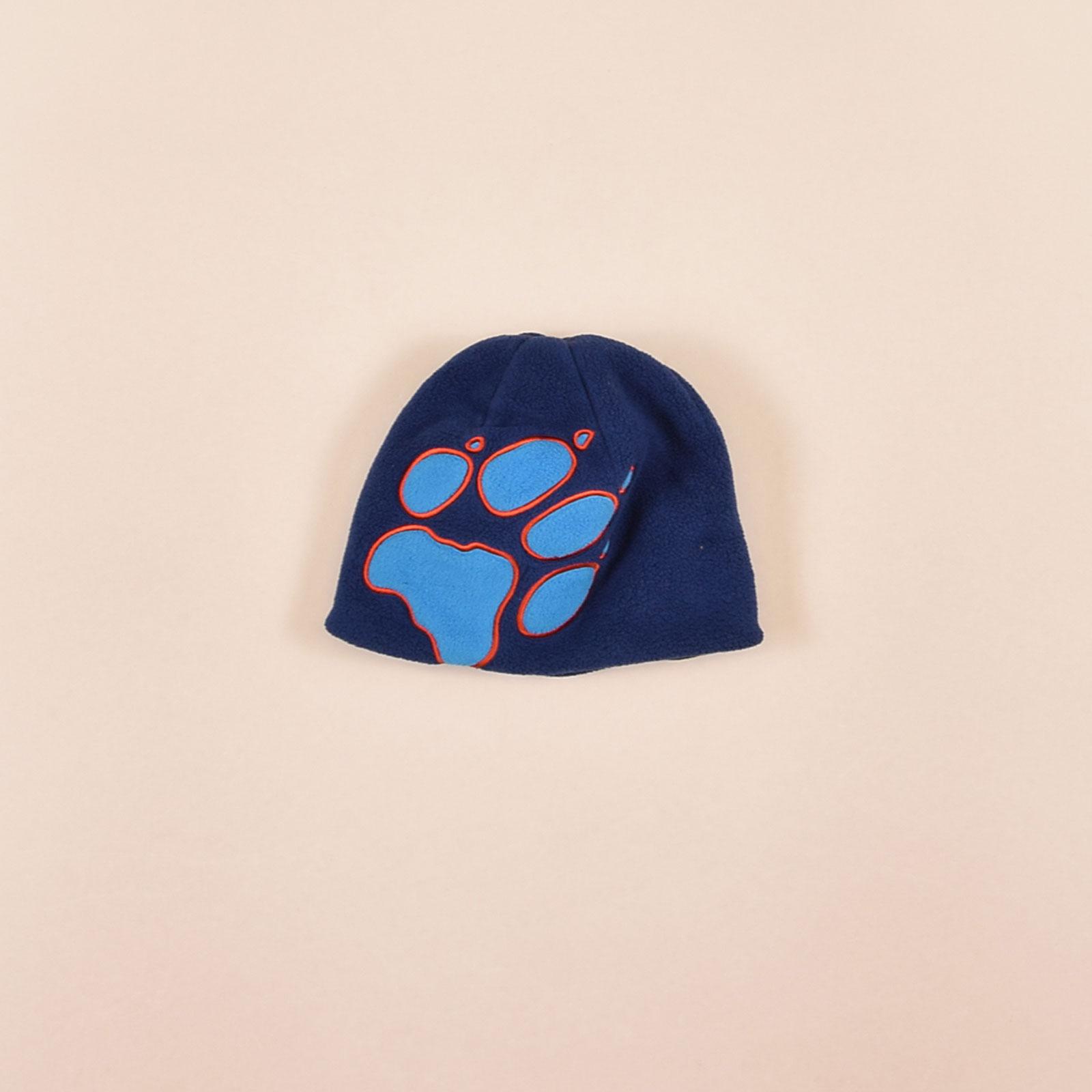 Details zu Jack Wolfskin Junge Kinder Mütze Kappe Gr.One Size Fleece Blau, 72359