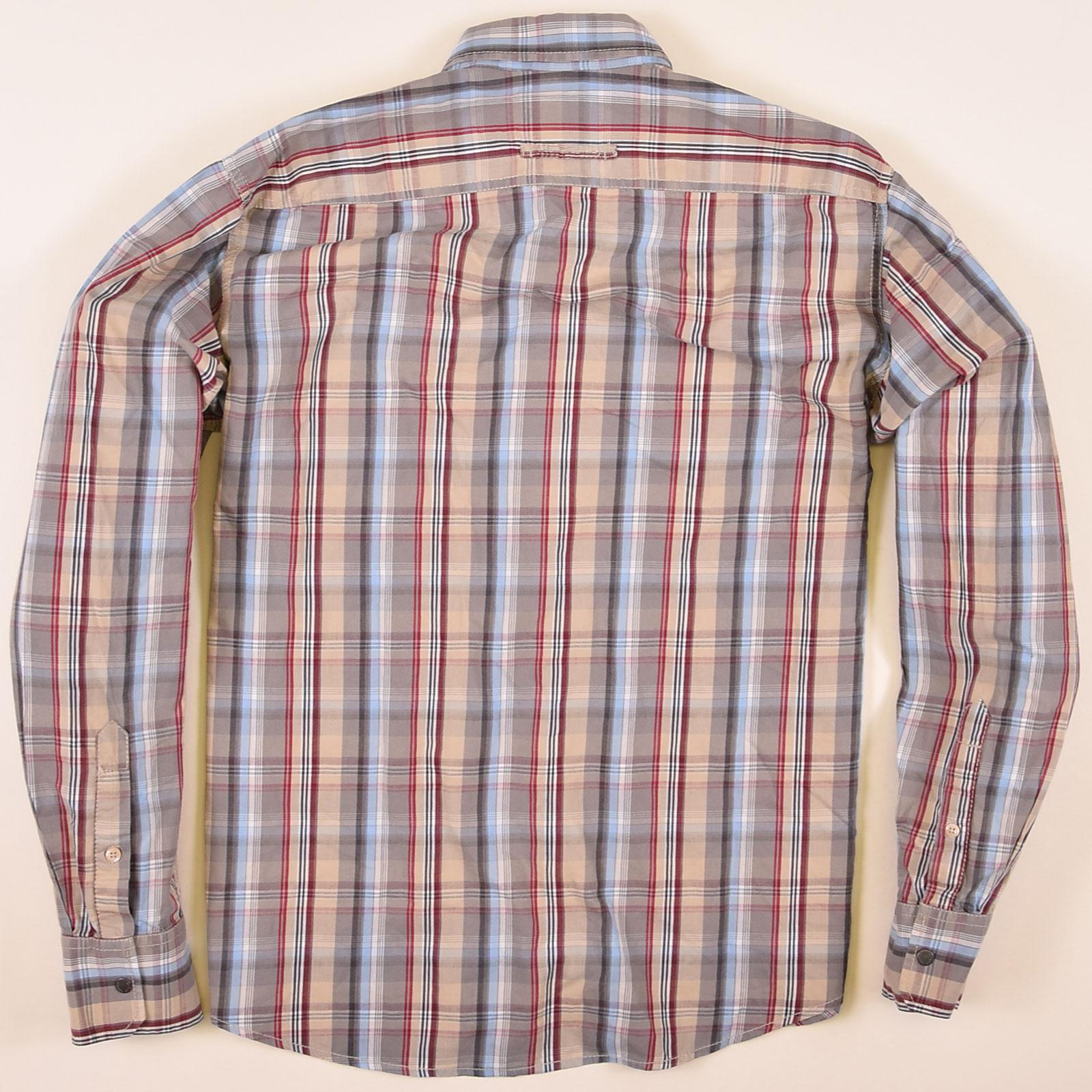 Camel Active Freizeithemd Hemd Shirt Herren Kurzarm Kent Kragen Regular Fit