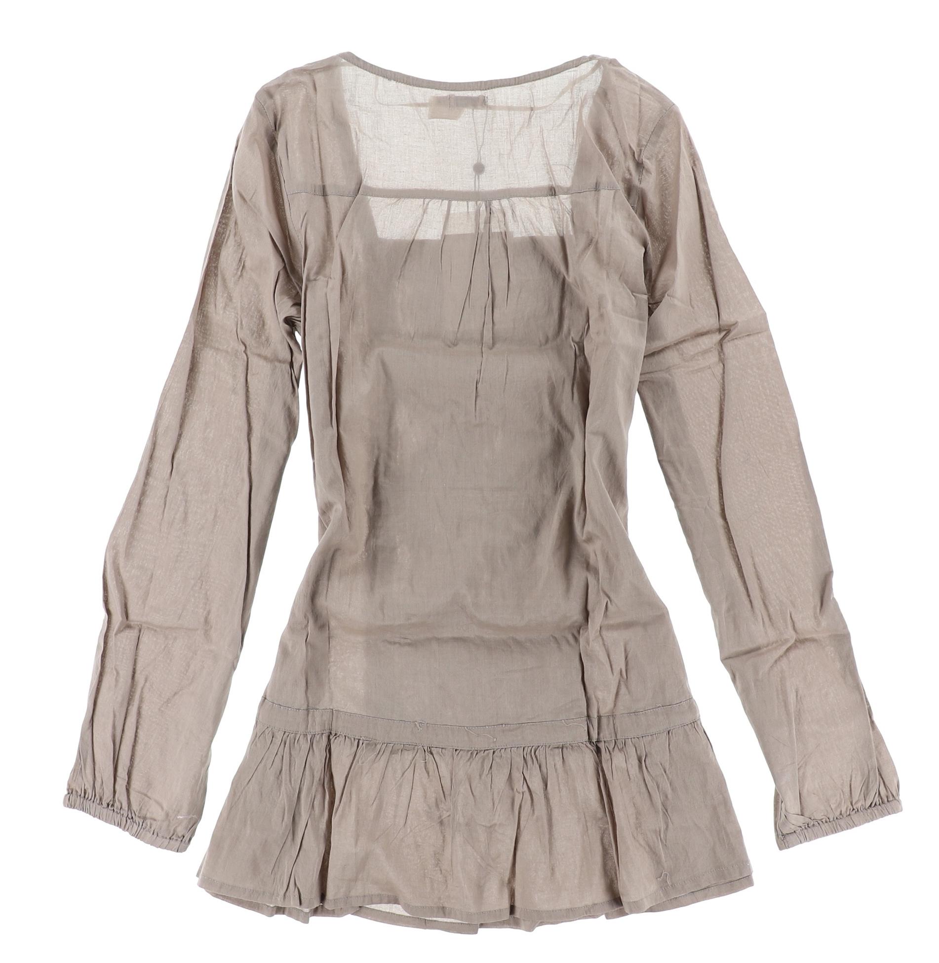 Kaffe Damen Tunika Kleid Dress Boho Gr.34 Braun Khaki, 181 ...